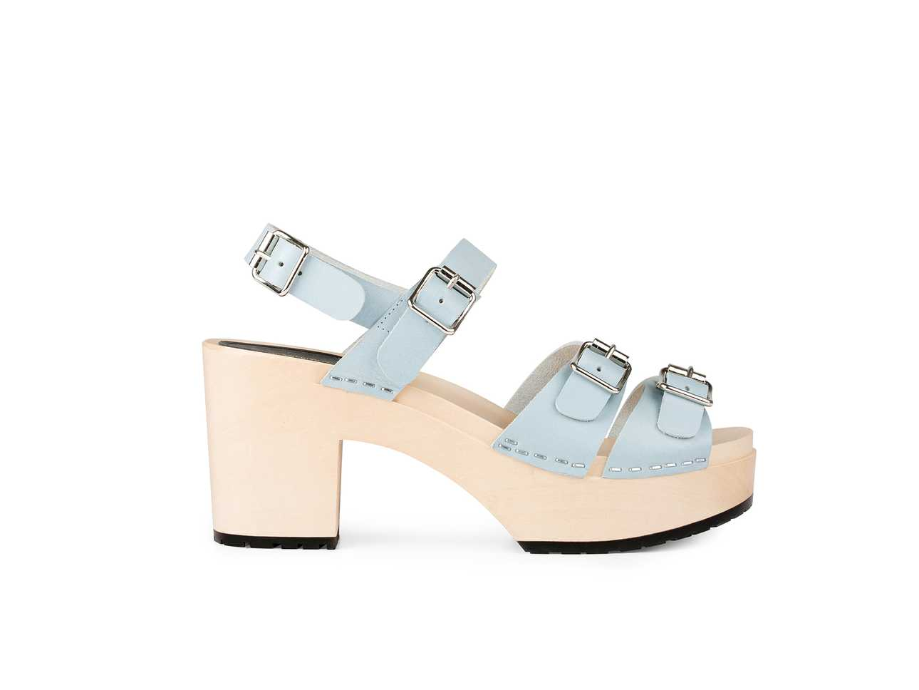 Buckle Sandal Baby Blue