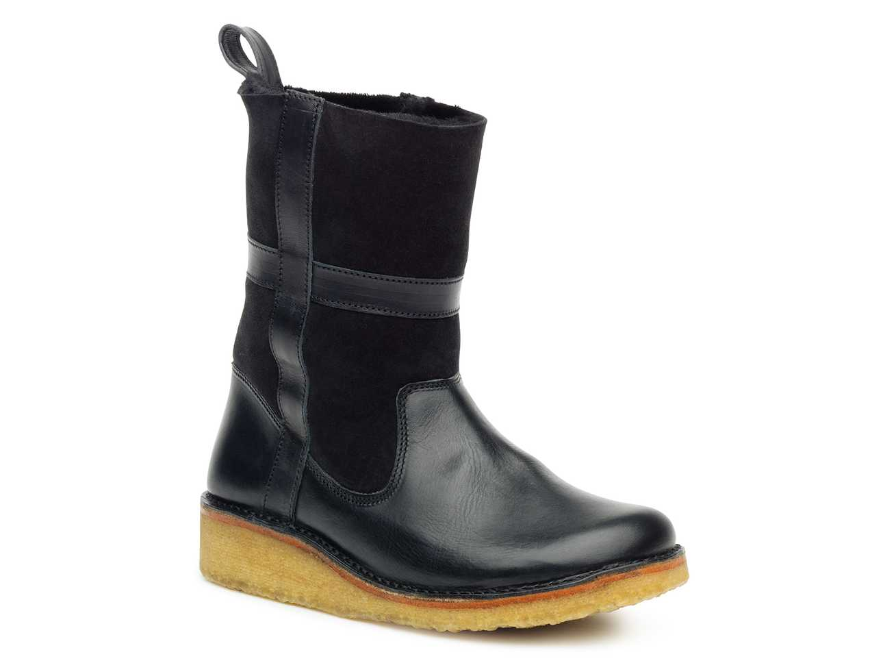 Sherling Rubber Boot Black