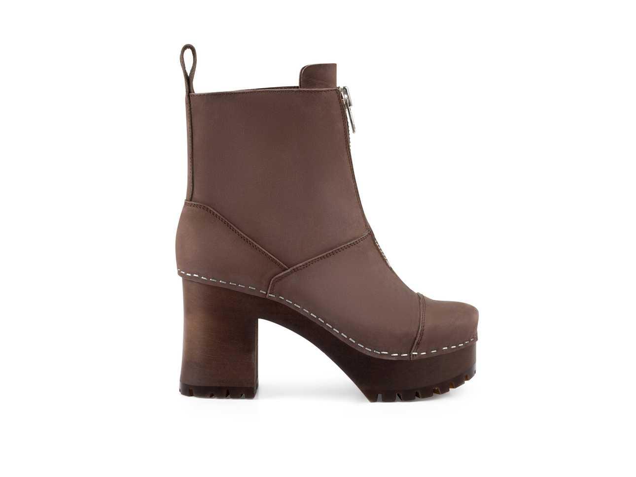 Grunge Boot Chocolate Brown Nubuck/Chocolate Brown