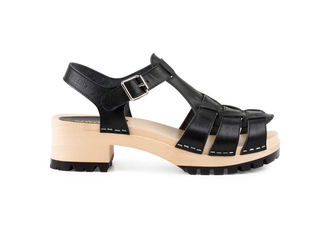 Black sandals grunge - Grunge Sandal Black