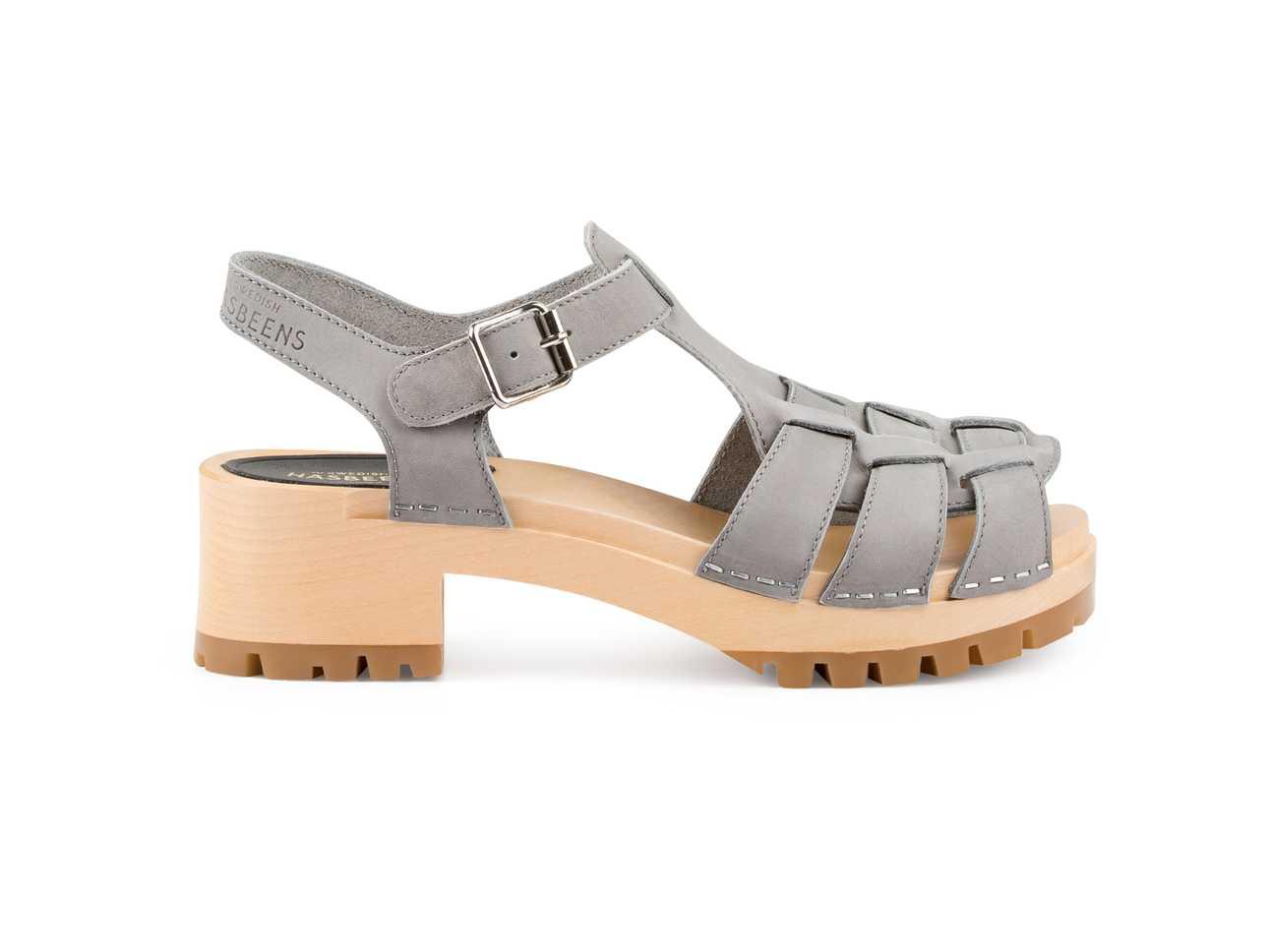Grunge Sandal Grey Nubuck