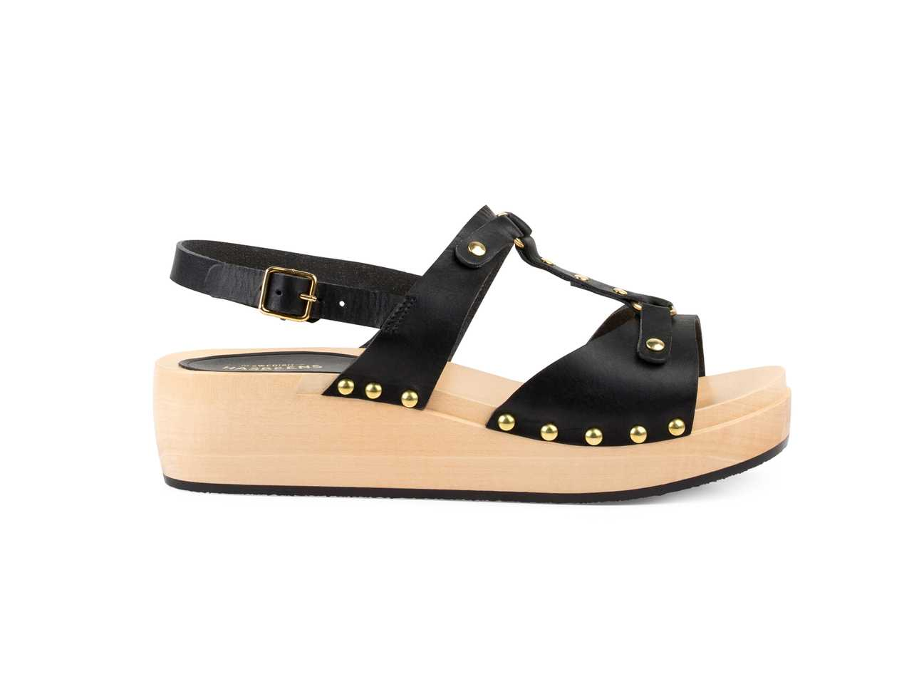 Rivet Sandal Black