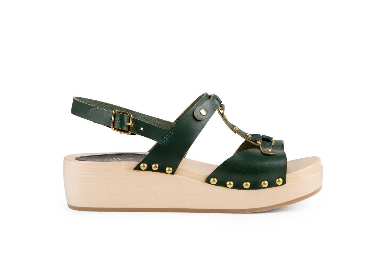 Rivet Sandal Deep Green