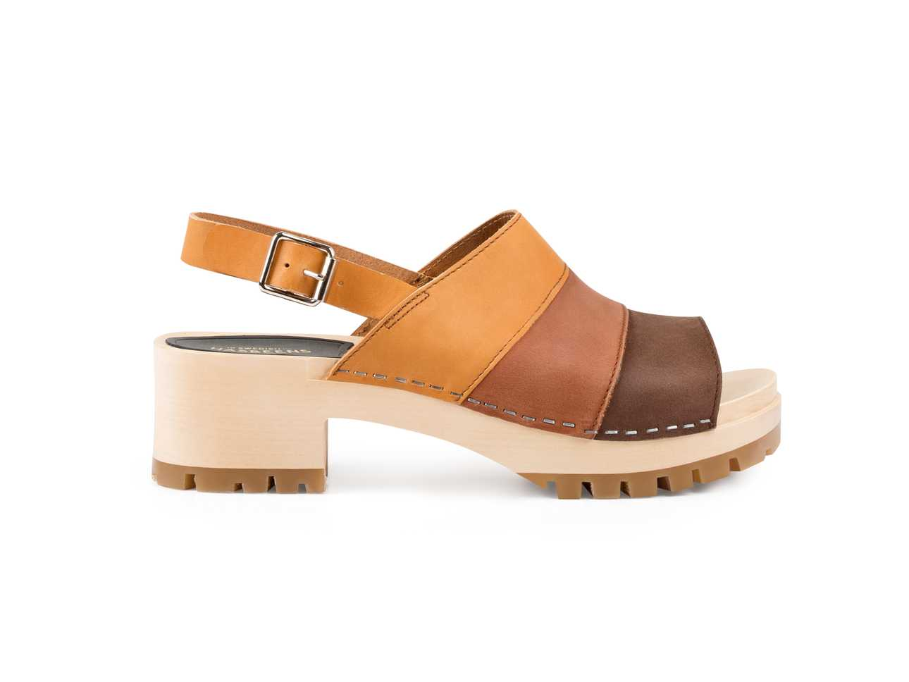 Hippie Sandal Brown Nubuck combo