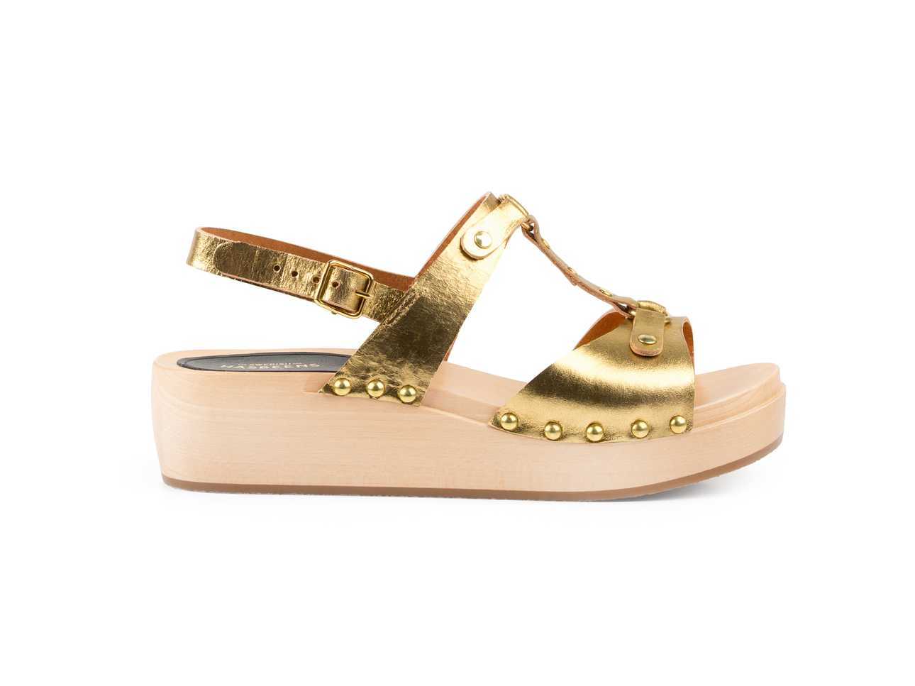 Rivet Sandal Gold