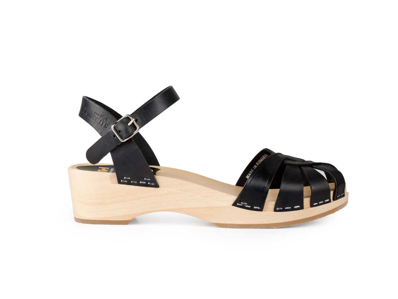 Cross Strap Debutant Black