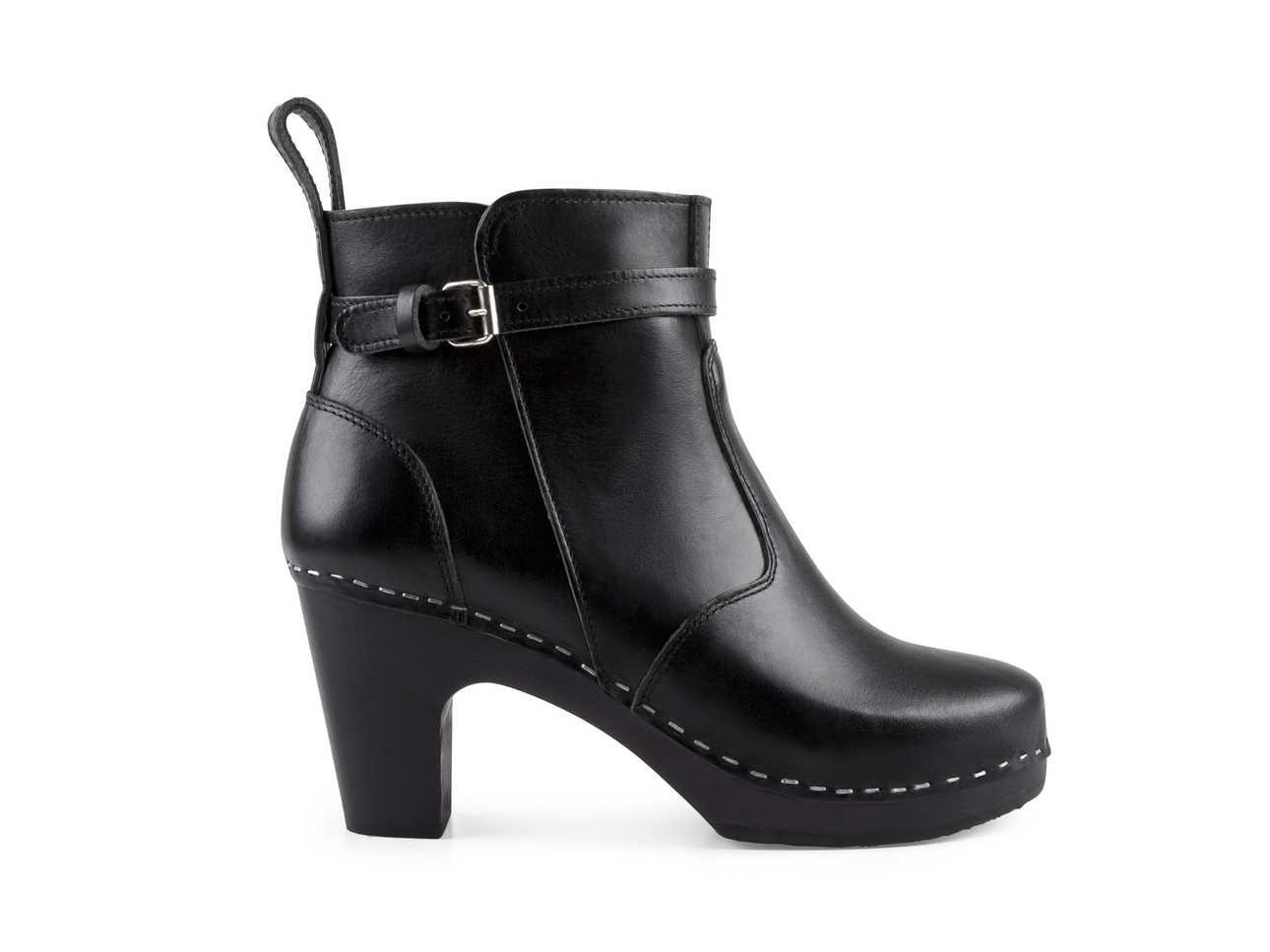 High Heeled Jodhpur Black/Black sole